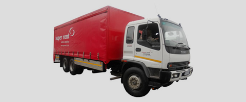 14 Ton Curtain Side Truck