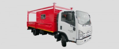 4 Ton Drop Side Truck with Labour Canopy