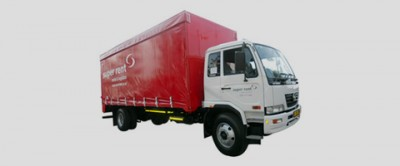 8 Ton Curtain Side Truck